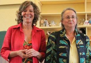 Claire BENOIT et Françoise PAULY