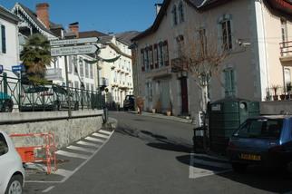 Sortie du parking Saint-Pierre