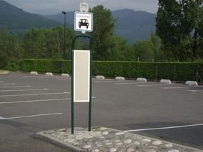 Aire de co-voiturage au parking du stade