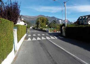 Ralentisseur route de Saint-Savin