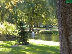 Le Bassin du Parc thermal