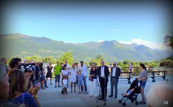 INAUGURATION TERRASSE JACQUES CHANCEL