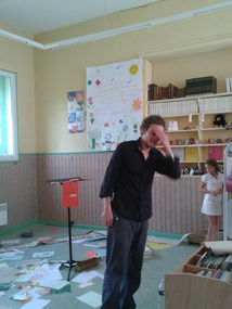 Nicolas VARGAS à la bibliothèque