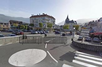 Création d'une zone piétonne au centre ville le jour du marché