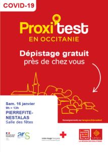 Dépistage Covid gratuit à Pierrefitte-Nestalas