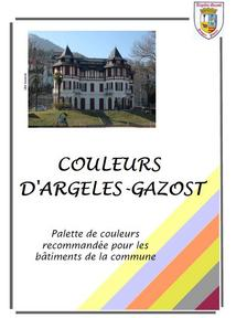 Palette de couleurs disponible à la mairie