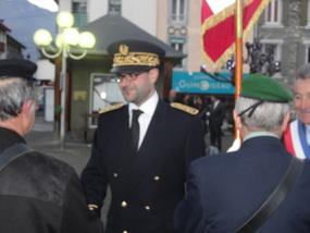 Monsieur Jean-Baptiste PEYRAT, nouveau sous-préfet de l'arrondissement