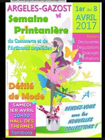 DÉFILÉ DE MODE ORGANISÉ PAR LES COMMERCANTS D'ARGELES-GAZOST
