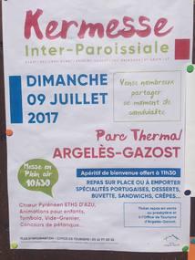 KERMESSE INTER-PAROISSIALE A ARGELES-GAZOST