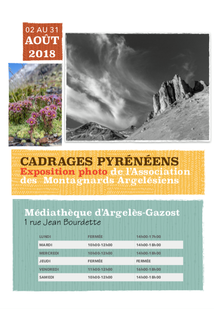 EXPOSITION PHOTO ASSOCIATION DES MONTAGNARDS ARGELESIENS A LA MEDIATHEQUE D'ARGELES-GAZOST